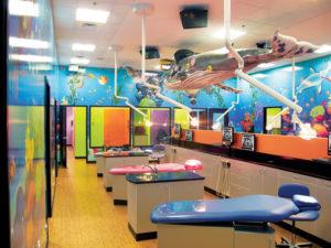 Pediatric treatment bay