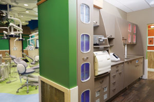 Sterilization center with top-of-the-line equipment.