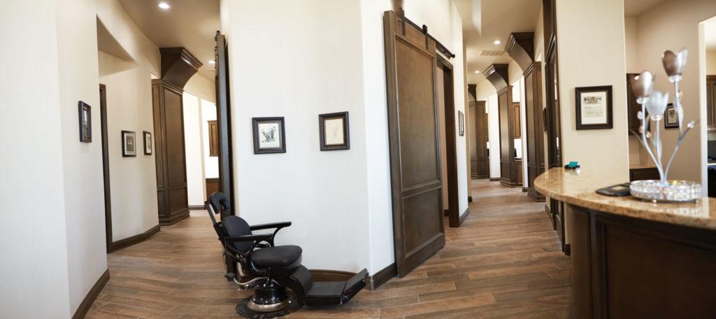 General dentistry hallway