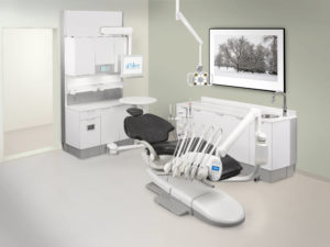 A-dec treatment room setup