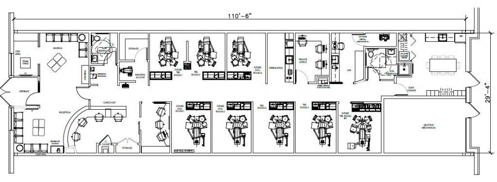 Emerson Dental Floor Plan