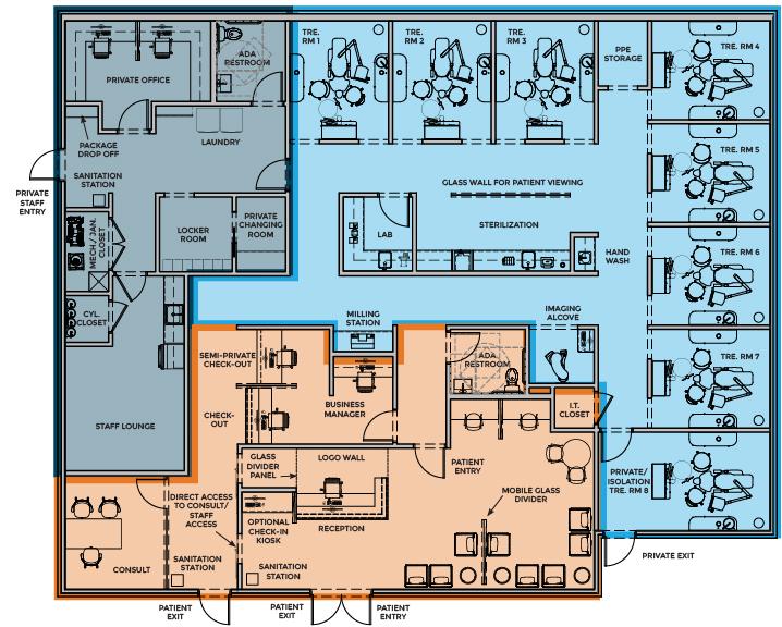 Infectious Disease Design floor plan