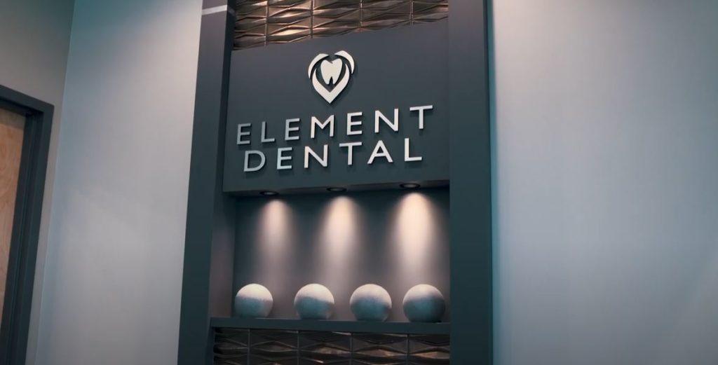 Element Dental Signage